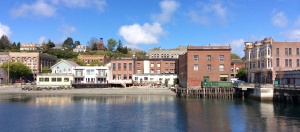 A view of Port Townsend from the pier.
