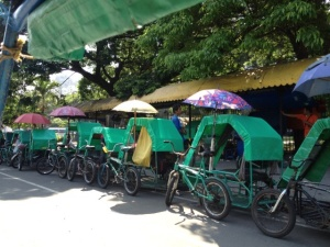 Tri-bike, tourism, Manila, Philippines