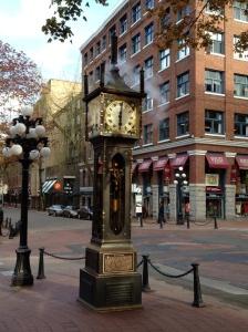 Gastown clock.