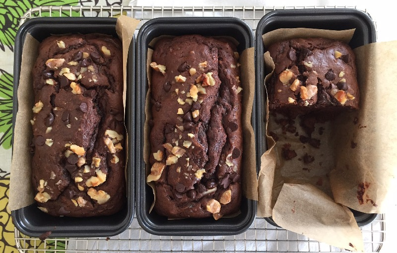 Chocolate Zucchini Bread (GlutenFree)